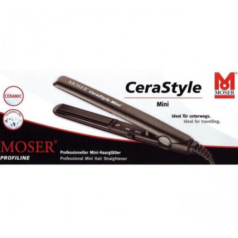 Webáruház   Moser CeraStyle Mini kerámialapos hajvasaló 4480-0050. További  képek fc15f86dbe