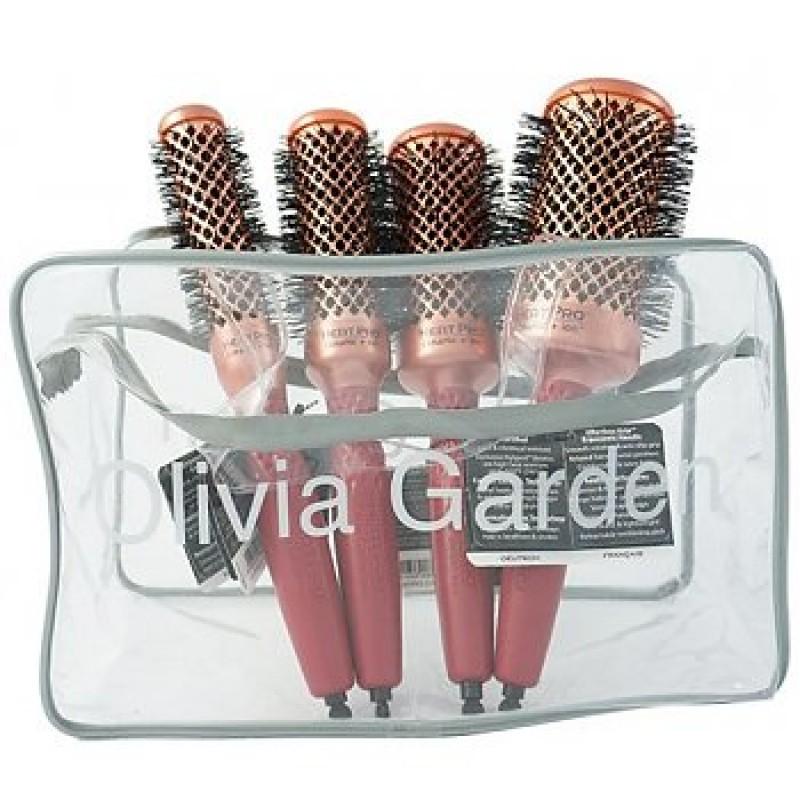 Olivia Garden Heat Pro Ceramic Ion K 246 Rkefe Szett