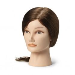 Sibel babafej humán hajjal, 35-40 cm