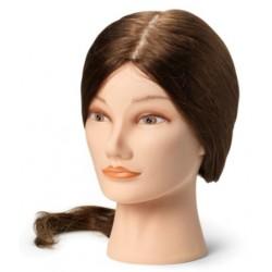 Sibel babafej humán hajjal, 45-50 cm