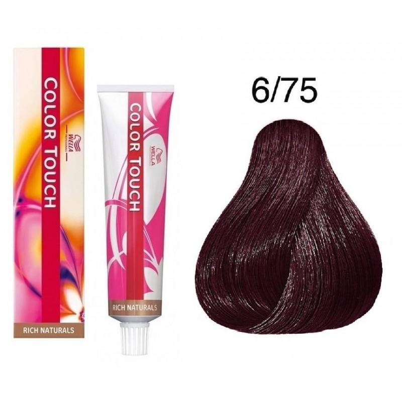 Wella Professionals Color Touch tartós hajszínező 6 75 ... f580d11c38