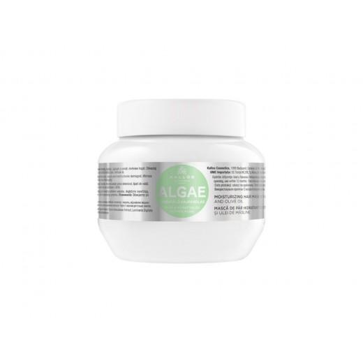 Kallos alga hidratáló hajpakolás alga kivonattal és olívaolajjal, 275 ml