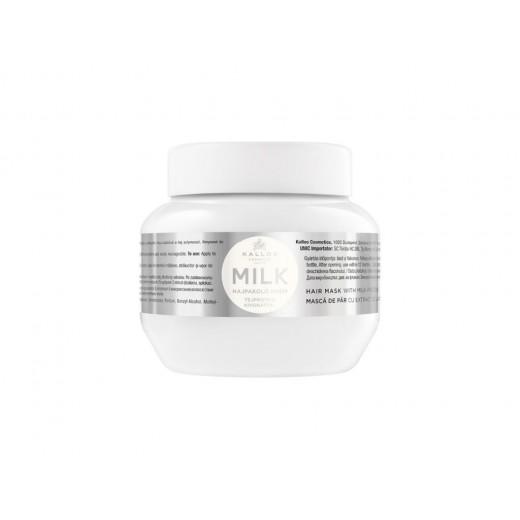 Kallos milk hajpakoló krém tejprotein kivonattal, 275 ml