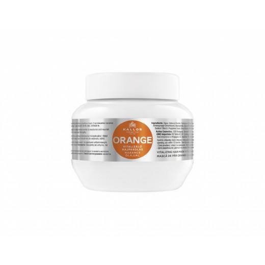 Kallos narancs hajpakolás narancs olajjal, 275 ml