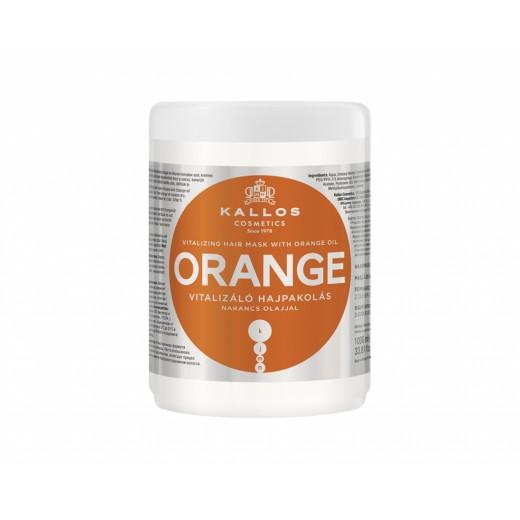 Kallos narancs hajpakolás narancs olajjal, 1 l